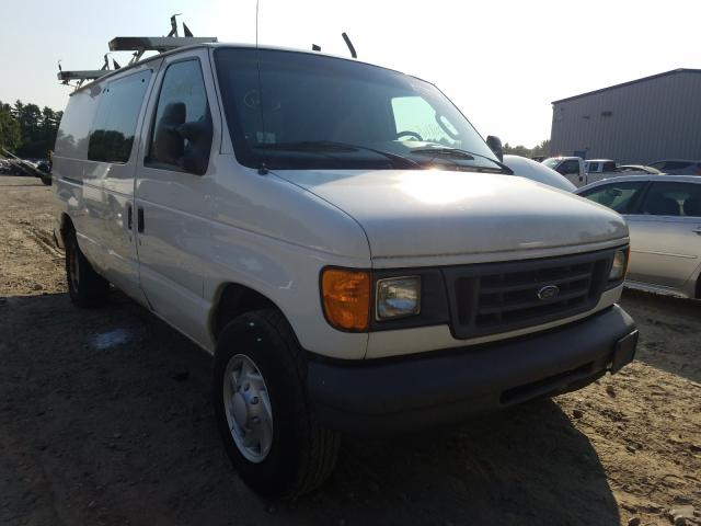 Ford E250 salvage cars for sale: 2007 Ford E250