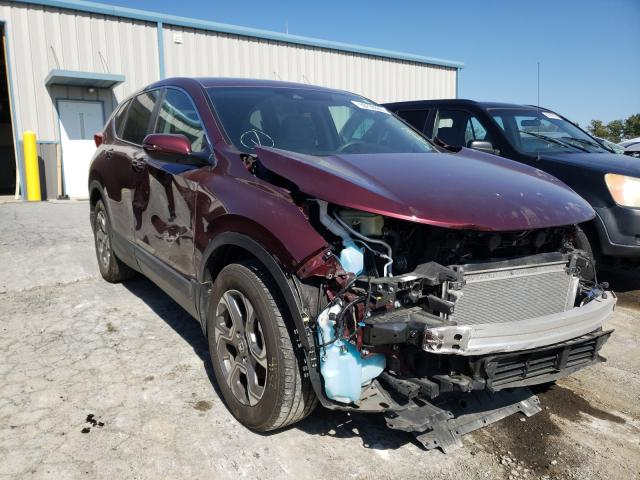 Salvage cars for sale from Copart Chambersburg, PA: 2018 Honda CR-V EX