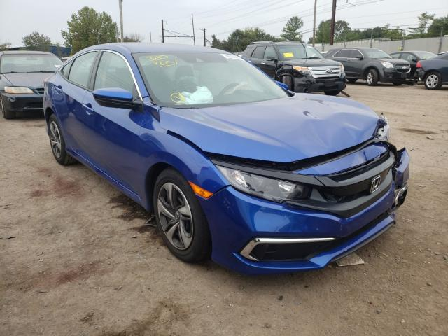 Salvage cars for sale from Copart Chalfont, PA: 2020 Honda Civic LX