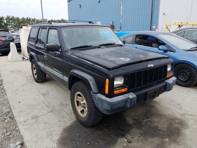 Jeep Cherokee S salvage cars for sale: 2000 Jeep Cherokee S
