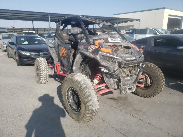 Salvage cars for sale from Copart Anthony, TX: 2019 Polaris RZR 1000 P
