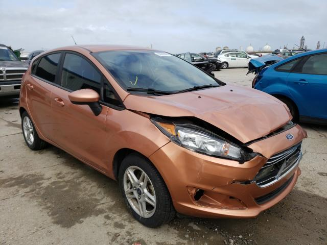 Ford Fiesta SE salvage cars for sale: 2017 Ford Fiesta SE