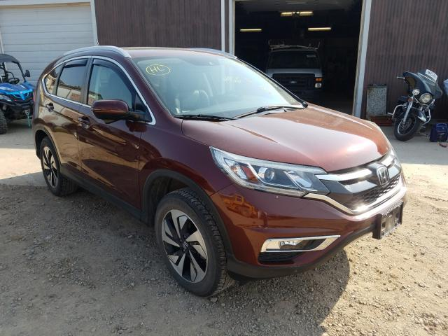 Salvage cars for sale from Copart Billings, MT: 2016 Honda CR-V Touring