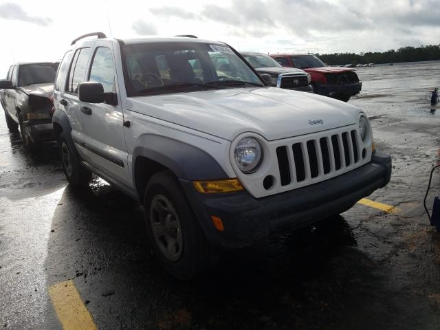 Salvage cars for sale from Copart Theodore, AL: 2007 Jeep Liberty SP