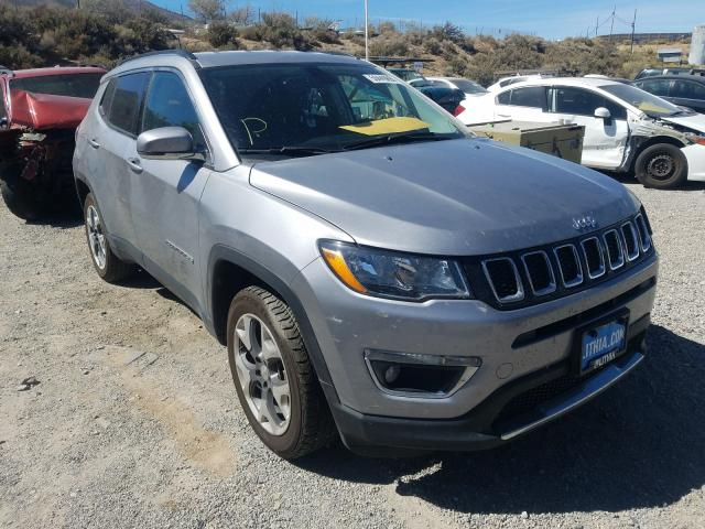 Jeep salvage cars for sale: 2019 Jeep Compass LI