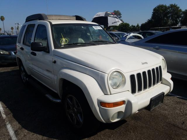 Jeep Liberty LI salvage cars for sale: 2004 Jeep Liberty LI