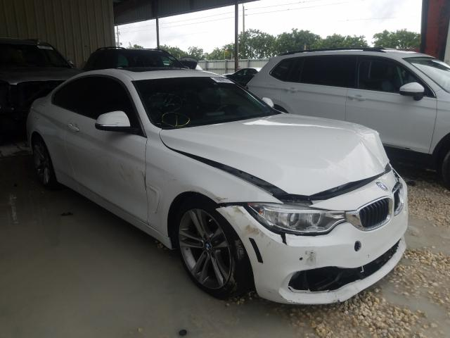 Salvage cars for sale from Copart Homestead, FL: 2017 BMW 430I