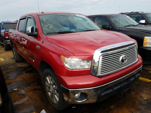 Salvage cars for sale from Copart Eight Mile, AL: 2013 Toyota Tundra CRE