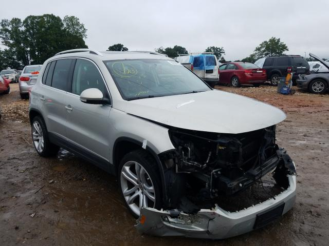 Volkswagen salvage cars for sale: 2015 Volkswagen Tiguan S