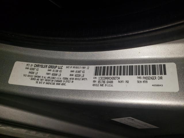 2012 CHRYSLER 200 LX 1C3CCBAB0CN282734