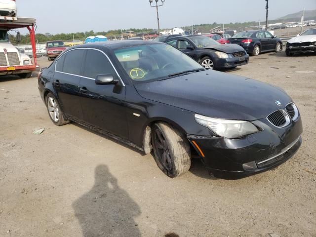 BMW 528 XI salvage cars for sale: 2008 BMW 528 XI