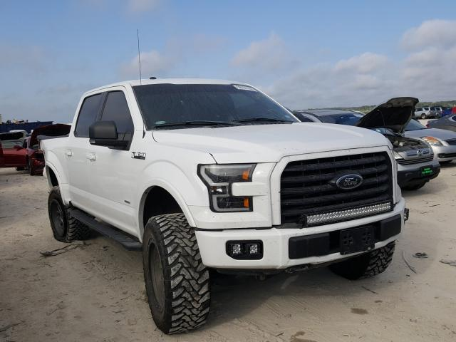 Salvage cars for sale from Copart New Braunfels, TX: 2017 Ford F150 Super