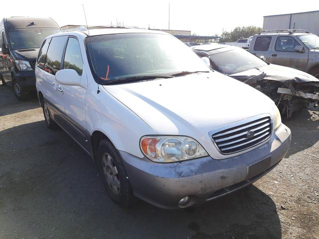 KIA Sedona EX salvage cars for sale: 2003 KIA Sedona EX