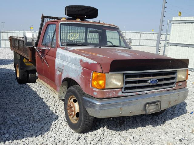 Ford F350 salvage cars for sale: 1988 Ford F350