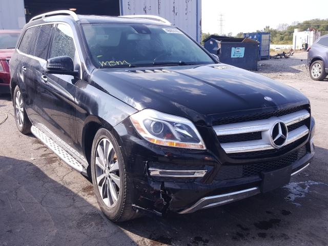 Salvage cars for sale at Chicago Heights, IL auction: 2014 Mercedes-Benz GL 450 4matic