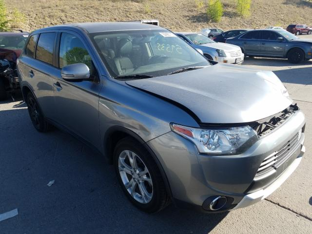 Mitsubishi salvage cars for sale: 2015 Mitsubishi Outlander
