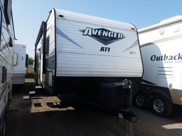 Avenger salvage cars for sale: 2018 Avenger Trailer