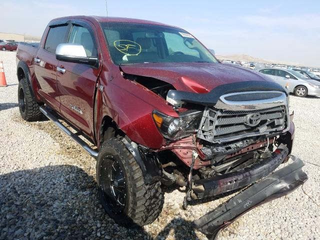 Salvage cars for sale from Copart Magna, UT: 2008 Toyota Tundra CRE