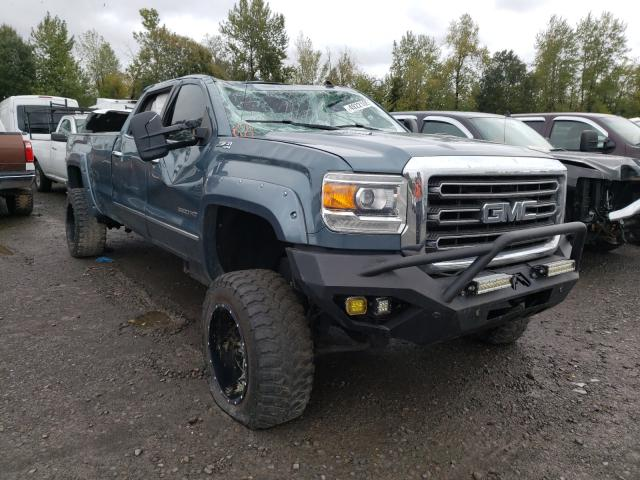 Salvage cars for sale from Copart Portland, OR: 2015 GMC Sierra K35