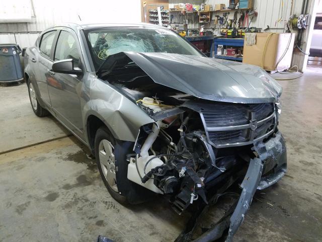 Dodge Avenger salvage cars for sale: 2008 Dodge Avenger