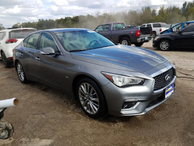 Infiniti Q50 Luxe salvage cars for sale: 2018 Infiniti Q50 Luxe