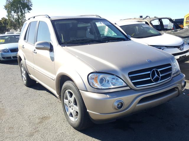 Mercedes-Benz ML 500 salvage cars for sale: 2002 Mercedes-Benz ML 500