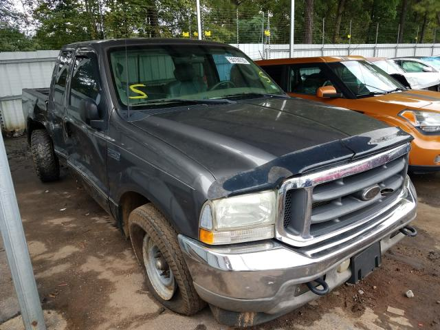 Salvage cars for sale from Copart Austell, GA: 2003 Ford F250 Super