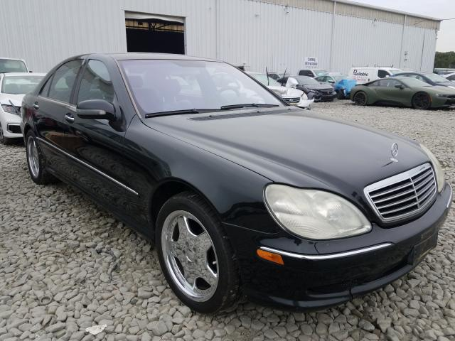 Salvage cars for sale from Copart Windsor, NJ: 2002 Mercedes-Benz S500