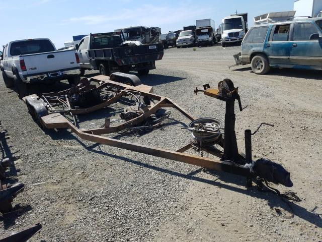 Salvage cars for sale from Copart Vallejo, CA: 1986 Other Marine Trailer