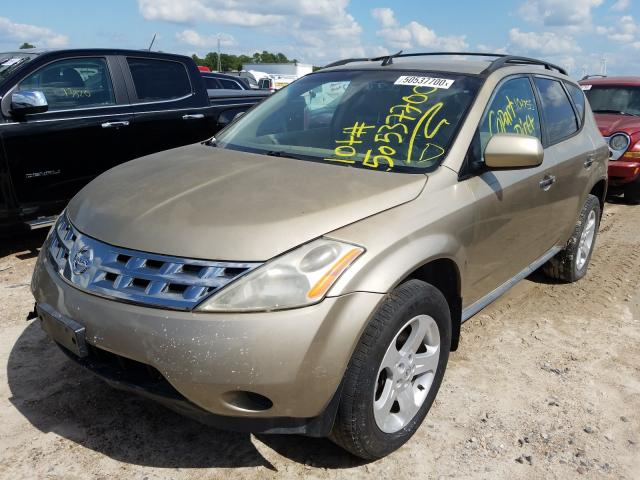2005 NISSAN MURANO SL - Left Front View