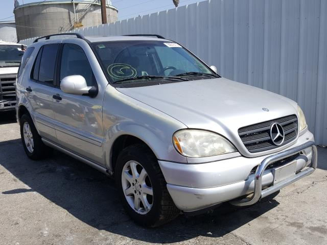 Mercedes-Benz salvage cars for sale: 1999 Mercedes-Benz ML 430