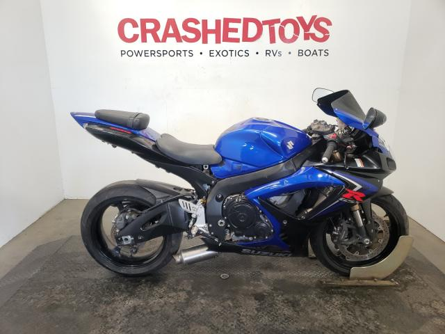 Salvage cars for sale from Copart Sacramento, CA: 2007 Suzuki GSX-R600