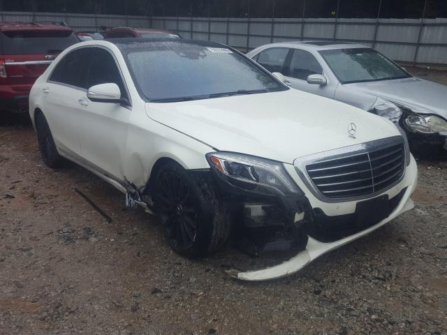 Mercedes-Benz S 550 4matic salvage cars for sale: 2015 Mercedes-Benz S 550 4matic