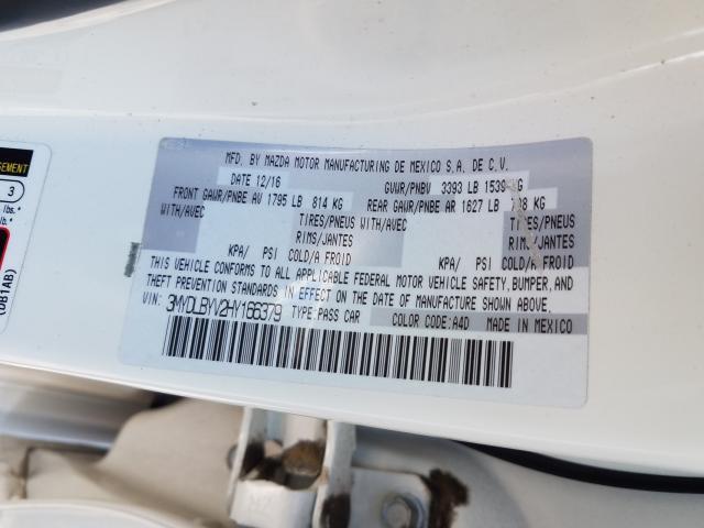 3MYDLBYV2HY166379 2017 Toyota Yaris Ia 1.5L
