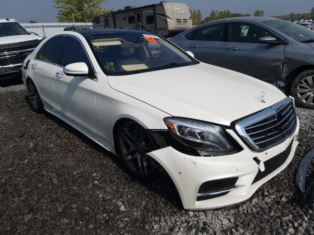Mercedes-Benz S 550 4matic salvage cars for sale: 2016 Mercedes-Benz S 550 4matic