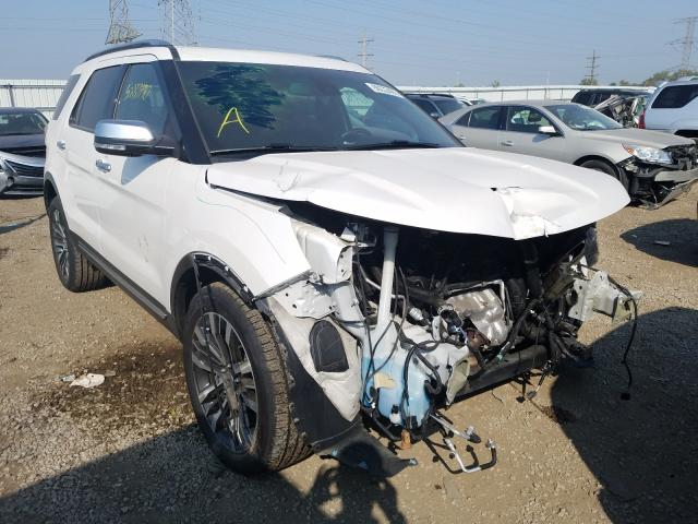 Salvage cars for sale at Elgin, IL auction: 2017 Ford Explorer