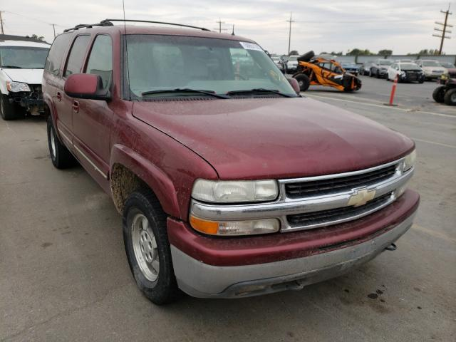 Salvage 2002 Chevrolet SUBURBAN for sale