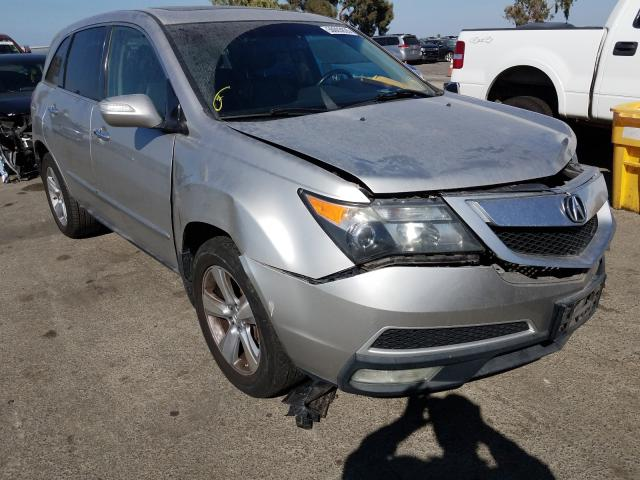 Salvage cars for sale from Copart Martinez, CA: 2011 Acura MDX Techno