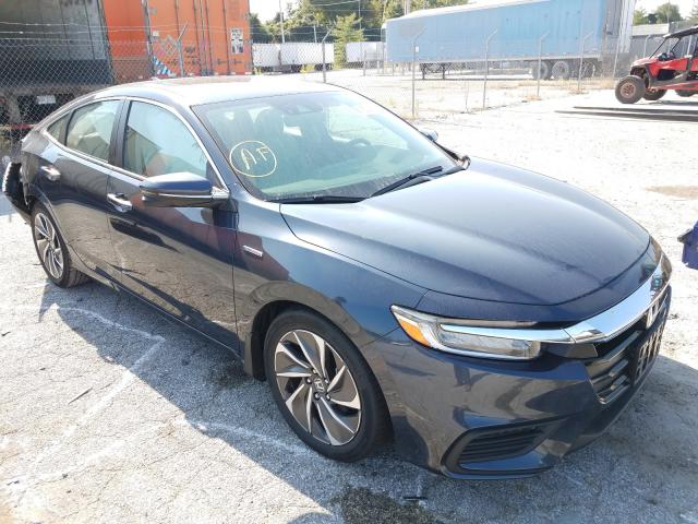 Salvage cars for sale from Copart Bridgeton, MO: 2019 Honda Insight TO