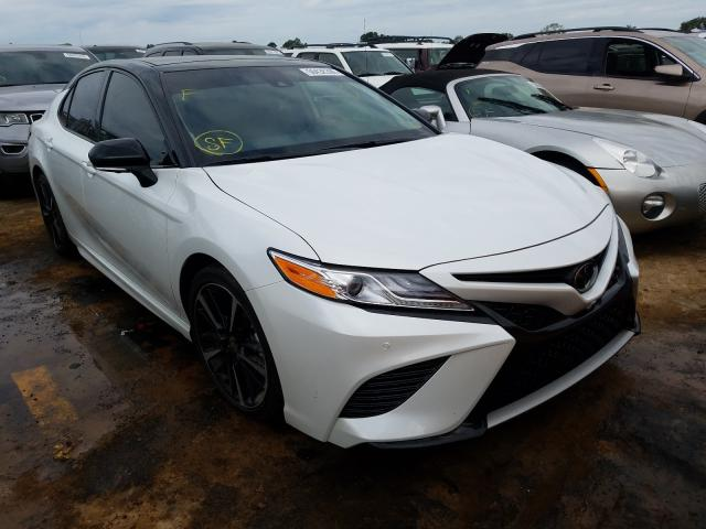 Salvage cars for sale from Copart Theodore, AL: 2020 Toyota Camry TRD