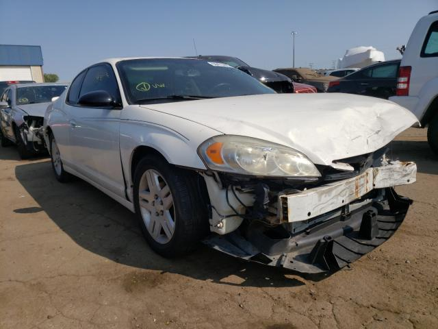 Salvage cars for sale from Copart Woodhaven, MI: 2007 Chevrolet Monte Carl