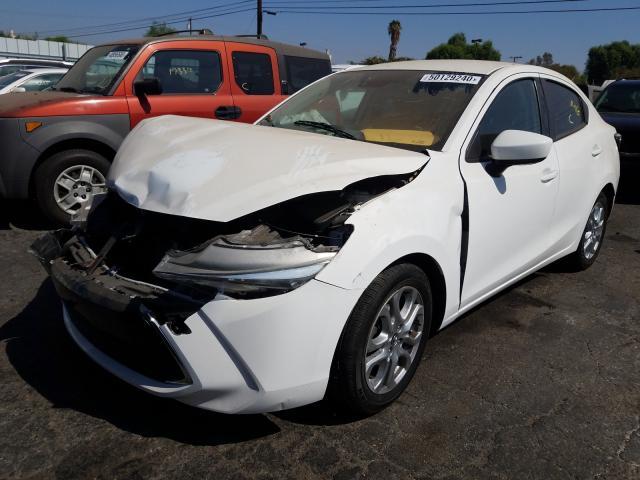 из сша 2017 Toyota Yaris Ia 1.5L 3MYDLBYV2HY166379