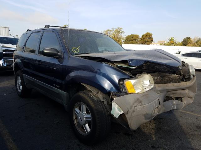 Ford Escape XLS Vehiculos salvage en venta: 2002 Ford Escape XLS