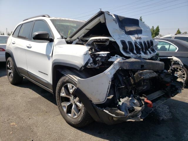 Salvage cars for sale from Copart Rancho Cucamonga, CA: 2015 Jeep Cherokee T