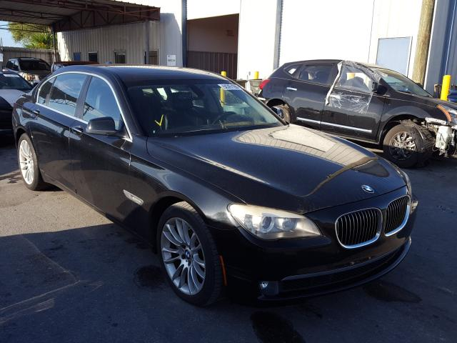 BMW 740 LI salvage cars for sale: 2011 BMW 740 LI