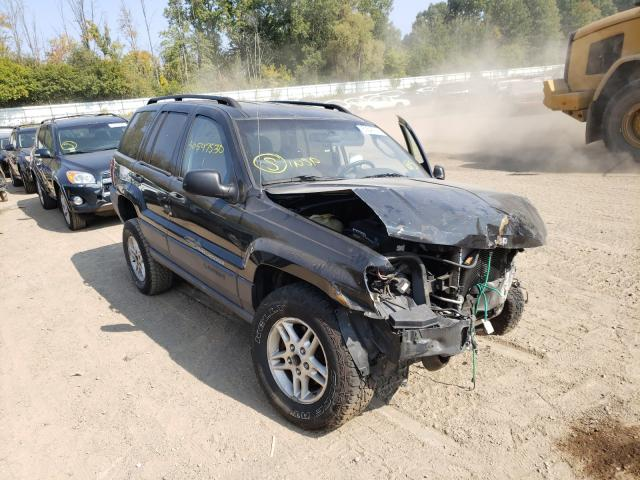 Jeep salvage cars for sale: 2004 Jeep Grand Cherokee
