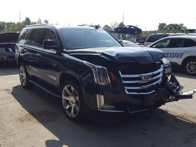 Salvage cars for sale from Copart North Billerica, MA: 2016 Cadillac Escalade L