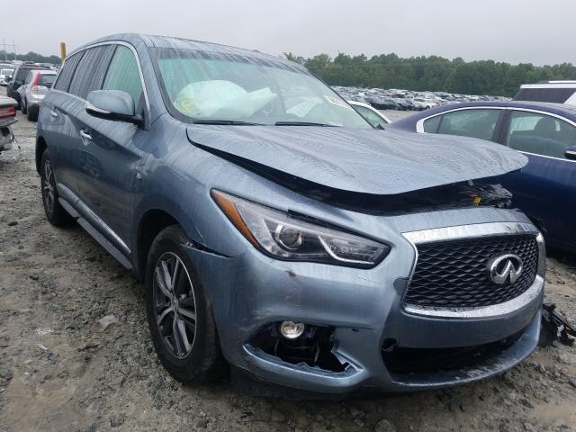 Salvage cars for sale from Copart Loganville, GA: 2018 Infiniti QX60