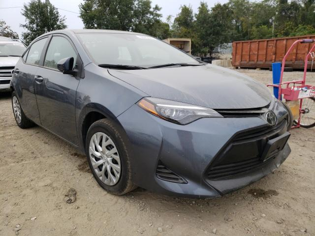 Salvage cars for sale from Copart Baltimore, MD: 2018 Toyota Corolla