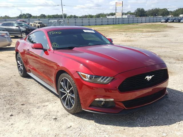 Salvage cars for sale from Copart Newton, AL: 2016 Ford Mustang